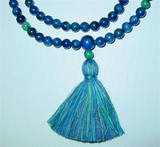 Lapis Mala with Turquoise - Neko-Chan Incense