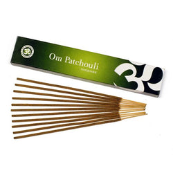 Om Patchouli Incense - 15 gms - Neko-Chan Incense