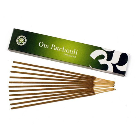 Om Patchouli Incense - 15 gms