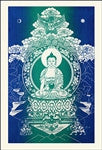 Shakyamuni Buddha Single Flag - Neko-Chan Incense