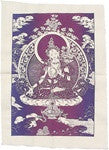 White Tara Single Flag - Neko-Chan Incense