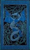 Celtic Dragon Table Cloth - Blue/Green, ONE LEFT - Neko-Chan Incense