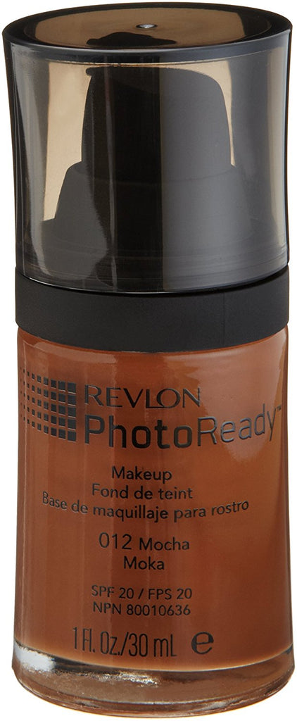 Revlon PhotoReady Makeup, Mocha 012, 1-Fluid Ounce - ADDROS.COM