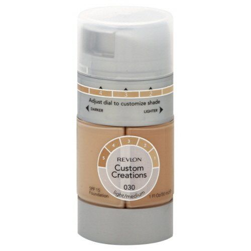 Revlon Custom Creations Foundation, Light Medium 030 - ADDROS.COM