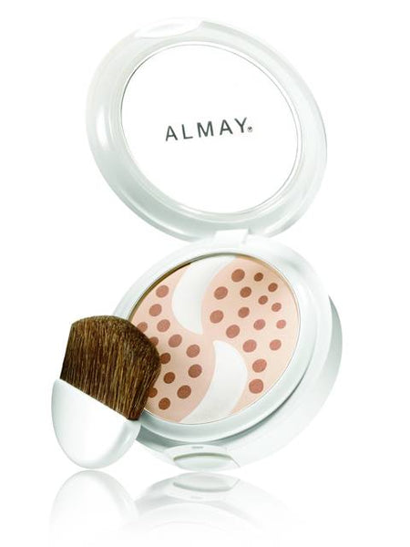 ALMAY Smart Shade Skintone Matching Pressed Powder, Light [100] 0.20 oz