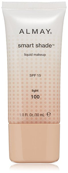 ALMAY Smart Shade Makeup with SPF 15, Light 100, 1-Oz