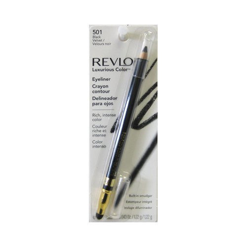 Revlon Cosmetics Revlon Luxurious Color Eyeliner Uncarded, Sueded Brown 502, 0.043 Ounce - ADDROS.COM
