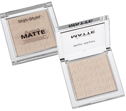 Styli-Style Cosmetics Beautifully Matte, Powder - Cool Ivory - ADDROS.COM