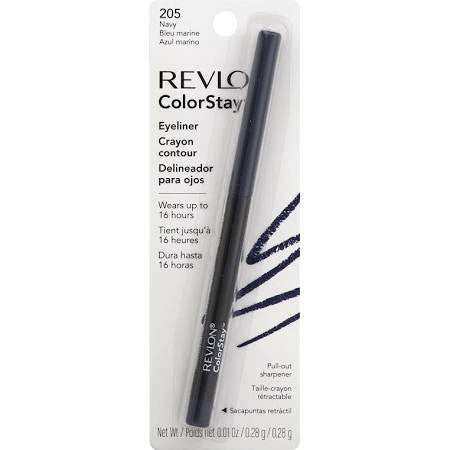 Revlon ColorStay Eye liner with Sharpener, 205 Navy - ADDROS.COM