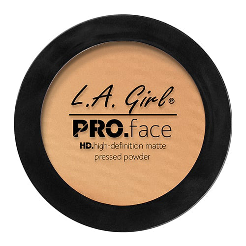 L.A. GIRL Pro Face HD High Definition Matte Pressed Powder - Classic Tan. 0.25 oz (7g) - ADDROS.COM