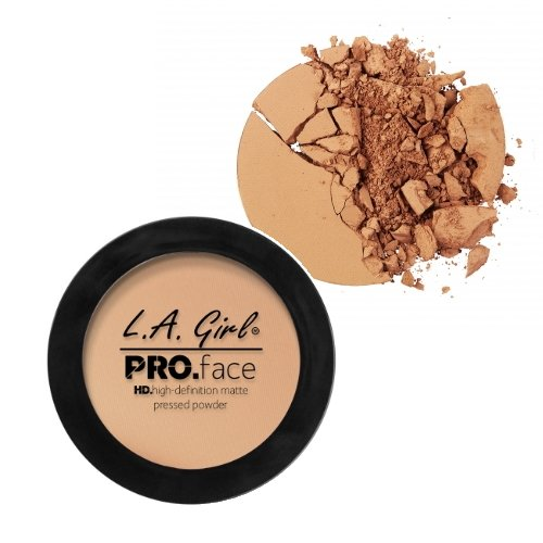 L.A. GIRL Pro Face HD High Definition Matte Pressed Powder - Medium Beige - ADDROS.COM