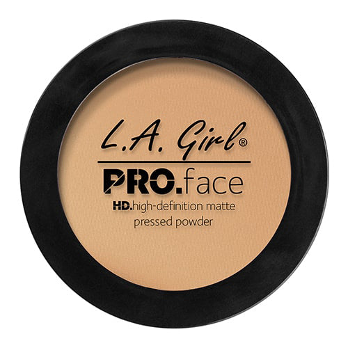 L.A. GIRL Pro Face HD High Definition Matte Pressed Powder Soft Honey - ADDROS.COM