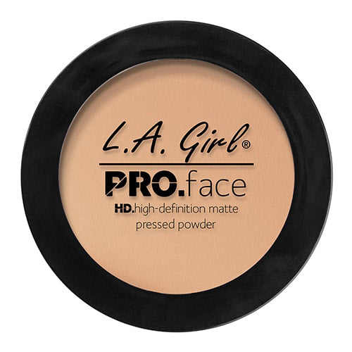 L.A. GIRL Pro Face HD High Definition Matte Pressed Powder Buff, 0.25 oz (7g) - ADDROS.COM