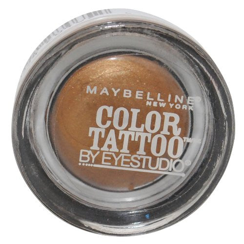Maybelline Color Tattoo Metal Eyeshadow, Gold Shimmer 300 - ADDROS.COM
