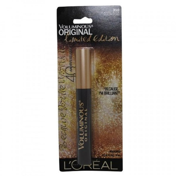 L'OREAL PARIS Limited Edition Voluminous Original Mascara - 310 Blackest Black