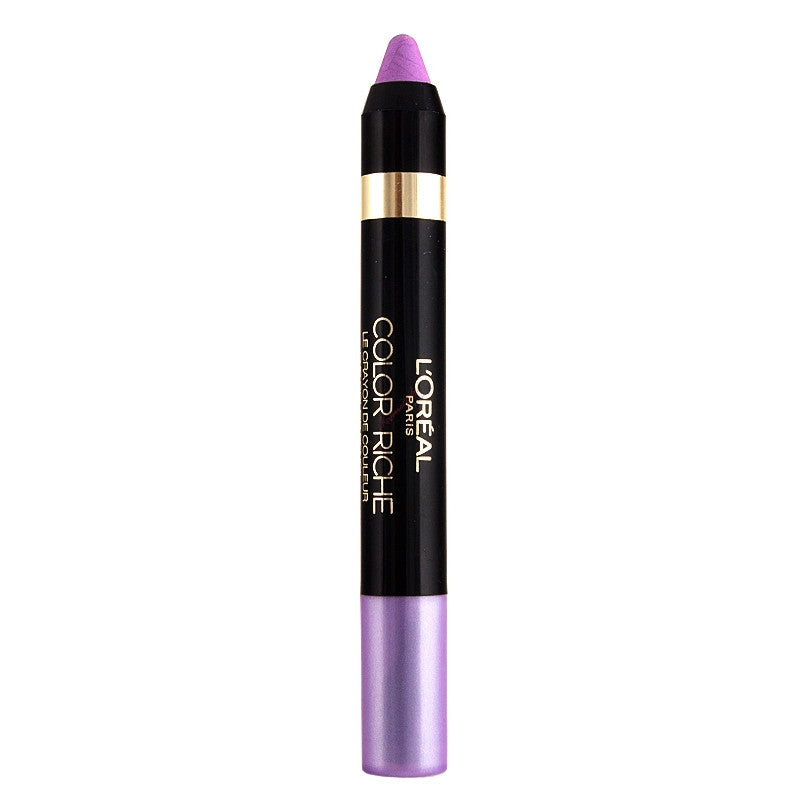 L'OREAL Paris colour RICHE Le Crayon Eyeshadow, 11 Lovely Lilas - ADDROS.COM