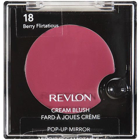 Revlon Cream Blush with Pop-Up Mirror, Berry Flirtatious 18