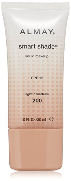 ALMAY Smart Shade Makeup with SPF 15, Light / Medium 200
