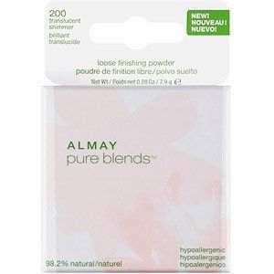 ALMAY Pure Blends Loose Finishing Powder, Translucent Shimmer