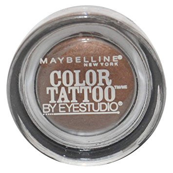 Maybelline Color Tattoo Metal Eyeshadow, Rich Mahogany 400 - ADDROS.COM