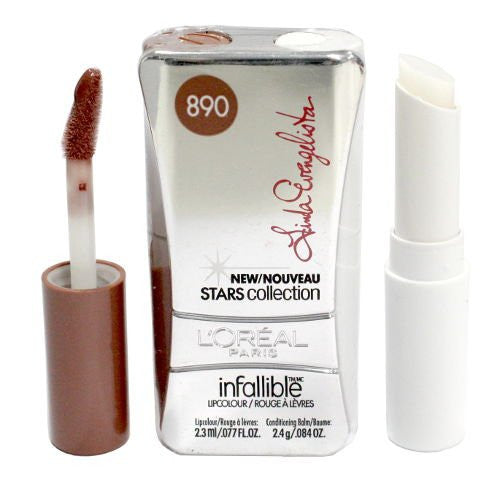 L'OREAL Infallible Never Fail Stars Collection Lipcolour, 890 Linda's Beige