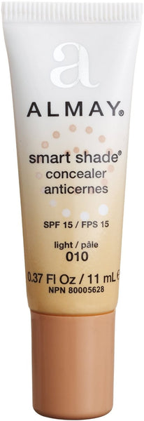 Almay Smart Shade Concealer, Light 010, 0.37 fl oz (11 ml) - ADDROS.COM
