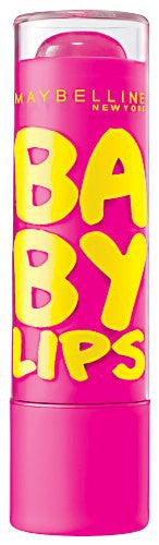 Maybelline NY Baby Lips Moisturizing Lip Balm, Pink Punch 25 - ADDROS.COM