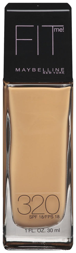 Maybelline New York Fit Me! Foundation, SPF 18, 320 Honey Beige - ADDROS.COM