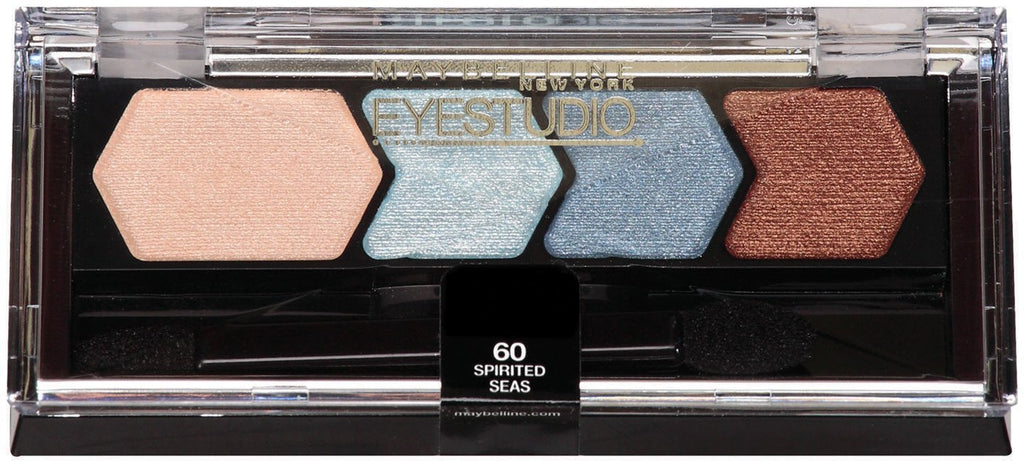 Maybelline New York Eye Studio Color Plush Silk Eyeshadow, Spirited Seas 60 - ADDROS.COM