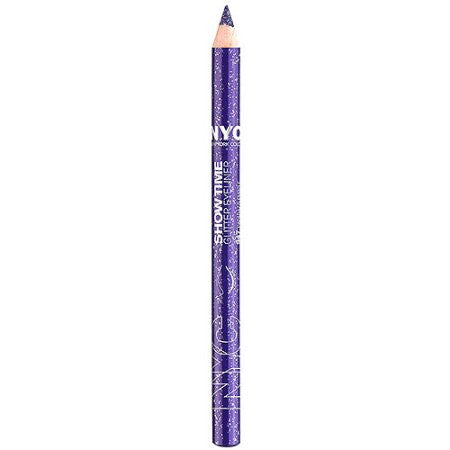 NYC Show Time Glitter Eyeliner Pencil, 947 Paparazzi Purple - ADDROS.COM