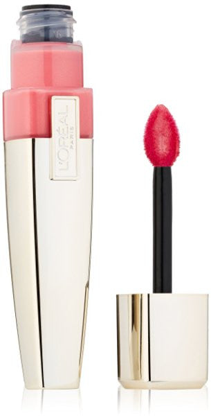 L'OREAL Colour Riche Caresse Wet Shine Stain, 184 Rose On And On - ADDROS.COM