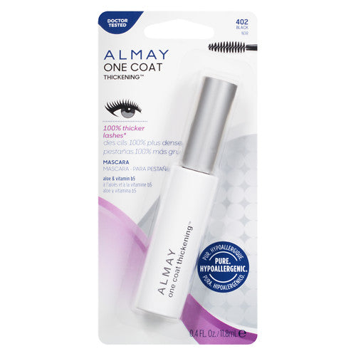 ALMAY One Coat Nourishing Thickening Mascara, Black 402