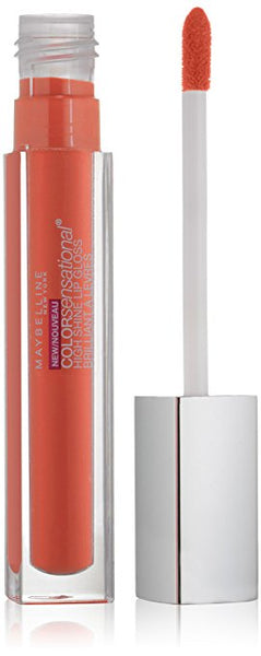 MAYBELLINE NEW YORK ColorSensational High Shine Lip Gloss, Captivating Coral 40 - 0.17 fl oz - ADDROS.COM