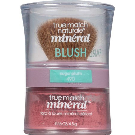 L'Oreal Paris True Match Gentle Mineral Blush, 490 Sugar Plum