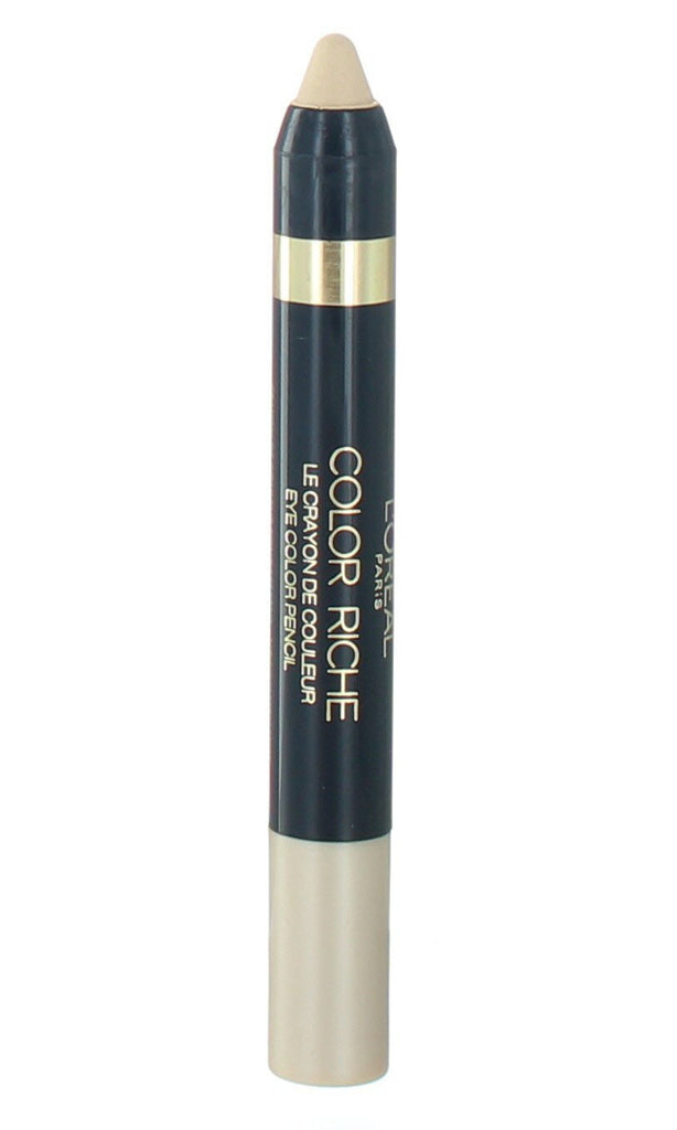 L'OREAL Paris Color Riche Le Crayon Eyeshadow, 10 Sugar Vanilla - ADDROS.COM