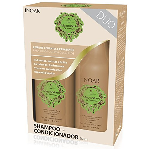 INOAR Macadamia Duo Kit (Shampoo + Conditioner)