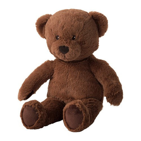 BRUNBJORN Soft Toy, Brown Bear - ADDROS.COM