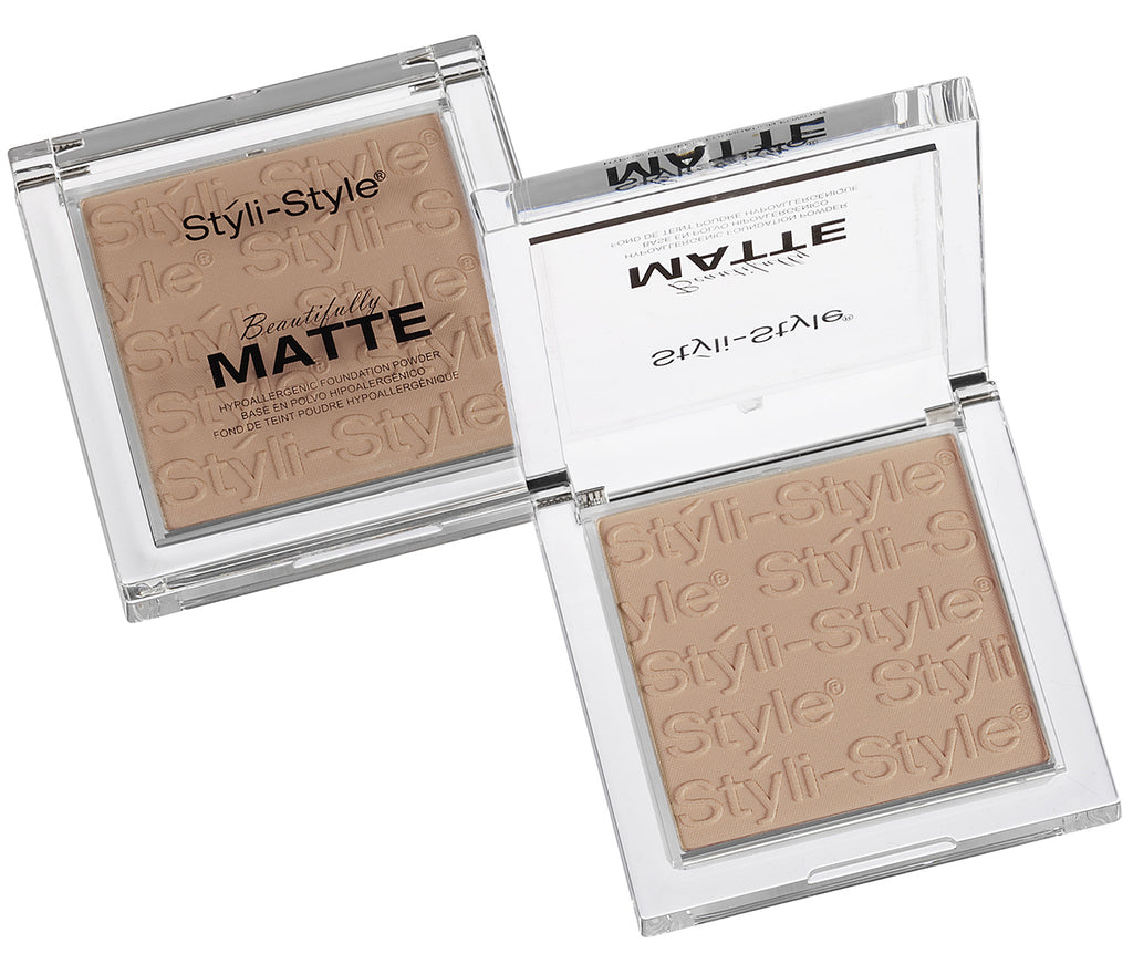 Styli-Style Cosmetics Beautifully Matte, Powder - Warm Beige - ADDROS.COM