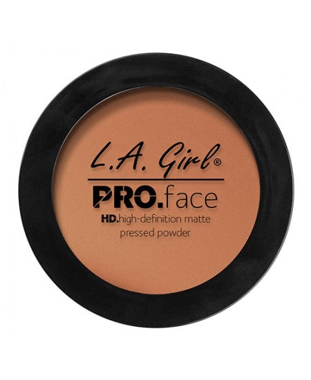 L.A. GIRL Pro Face HD High Definition Matte Pressed Powder Chestnut - ADDROS.COM