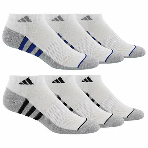 Adidas Men's Low Cut Sock with Climalite (6-pair)