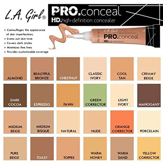L.A. Girl HD Pro Concealer - Dark Cocoa (GC988) - ADDROS.COM