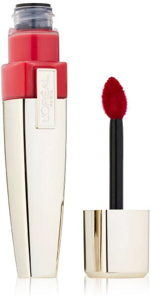 L'OREAL Paris Colour Riche Caresse Wet Shine Stain, 190 Endless Red