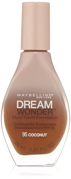 Maybelline Dream Wonder Fluid-Touch Foundation, Coconut 95