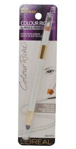 L'Oreal Colour Riche Wood Pencil Eyeliner # 950 White Rlanc