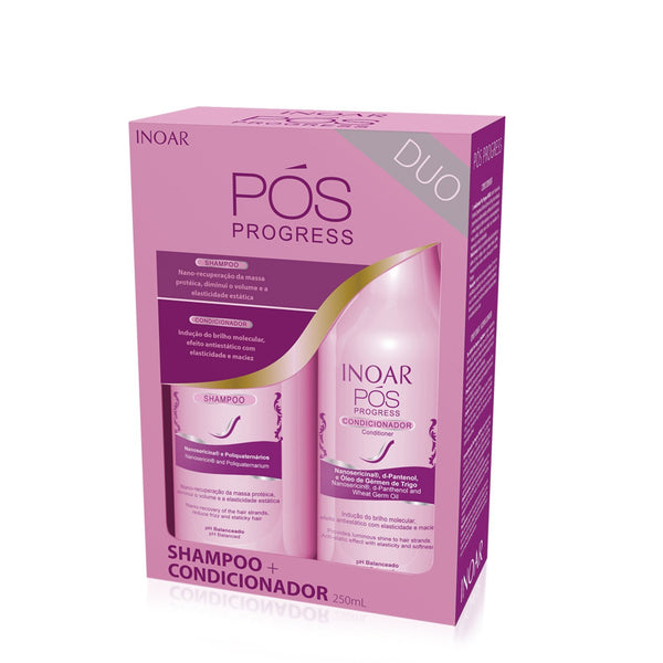 INOAR Duo PÓS Progress Kit (Shampoo & Conditioner)