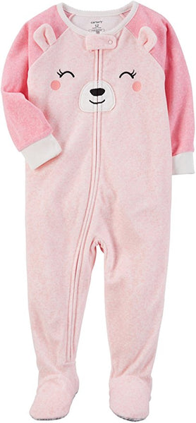 Carter's Long Sleeve One Piece Pajama-Toddler Girls (6M-5T) - ADDROS.COM