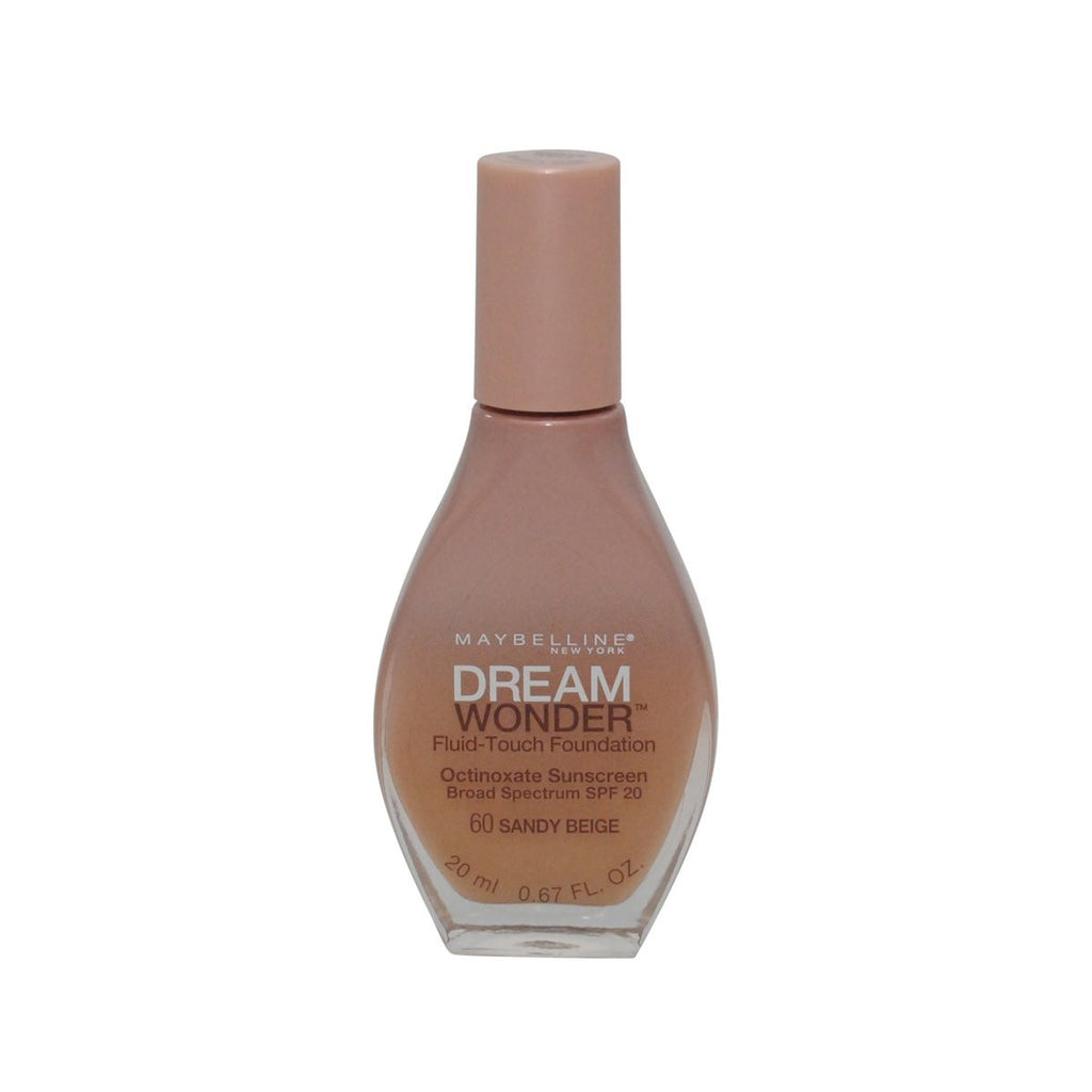 Maybelline Dream Wonder Fluid-Touch Foundation, Sandy Beige 60 - ADDROS.COM