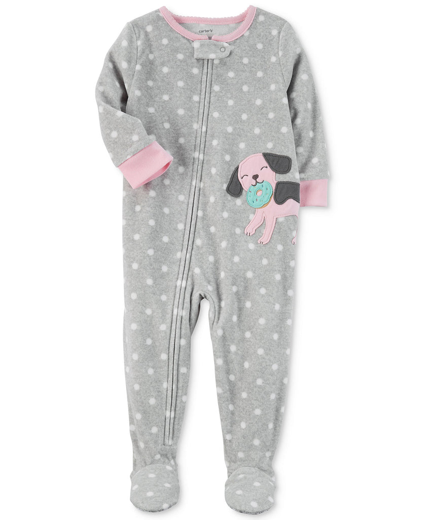 1d9c719cf Carter s Dog Dot-Print Footed Pajamas