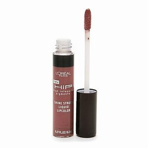 L'OREAL HIP Shine Struck Liquid Lipcolor, 866 Reserved - ADDROS.COM