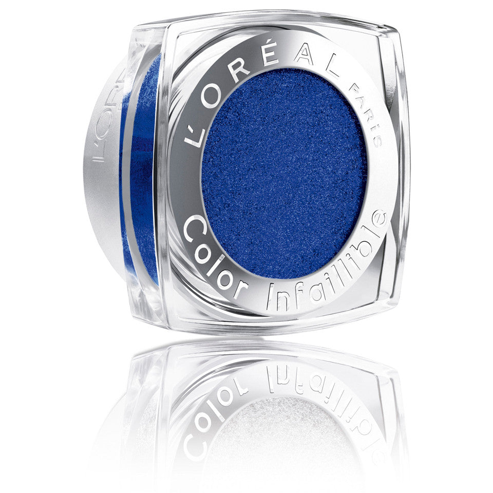 L'Oreal Paris Infallible 24 HR Eye Shadow, 006 All Night Blue - ADDROS.COM